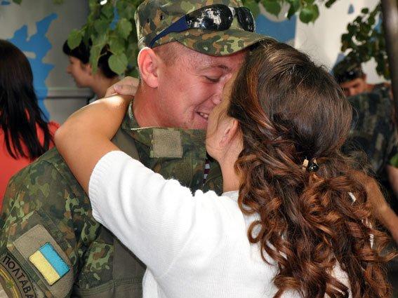 Полтавські правоохоронці повернулися з зони АТО. Фото (фото) - фото 3