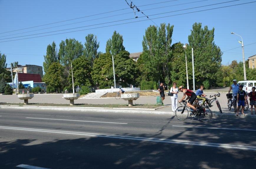 В Мариуполе из-за велогонки перекрыли пр. Нахимова (ФОТОРЕПОРТАЖ), фото-19