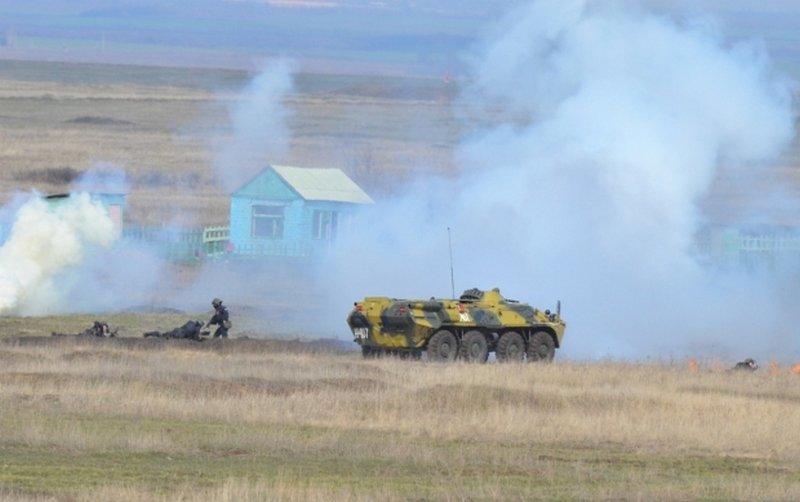 Полигон под Николаевом «оккупировали» бойцы «Пивдня» (ФОТО) (фото) - фото 1