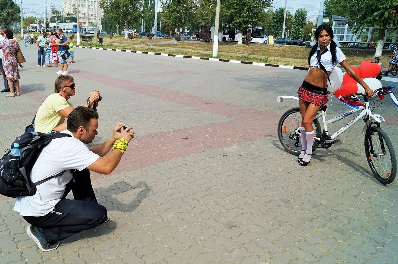 В Белгороде устроили велодевичик (фото) - фото 6