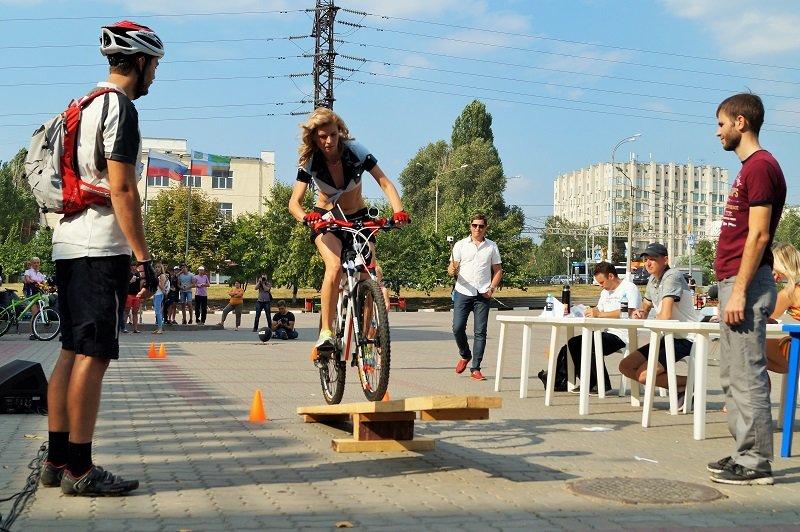 В Белгороде устроили велодевичик (фото) - фото 5