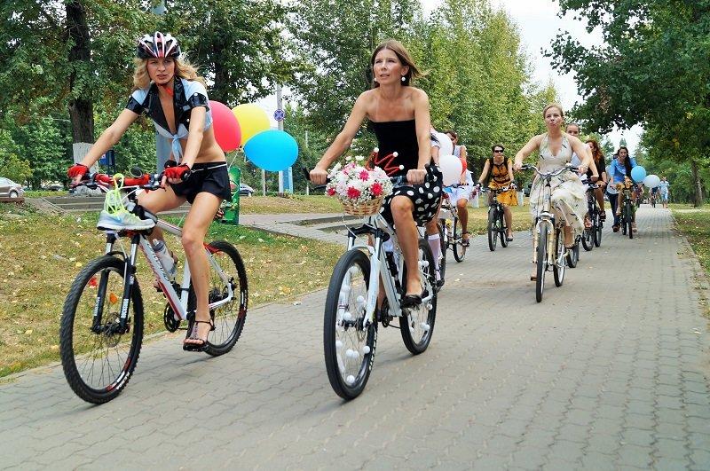 В Белгороде устроили велодевичик (фото) - фото 2