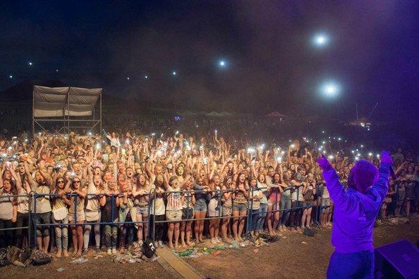Фоторепортаж: под Гродно прошел фестиваль красок «ColorFest» (фото) - фото 24