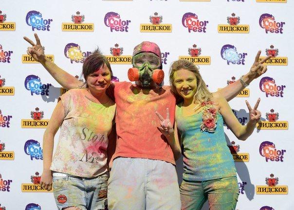 Фоторепортаж: под Гродно прошел фестиваль красок «ColorFest» (фото) - фото 1