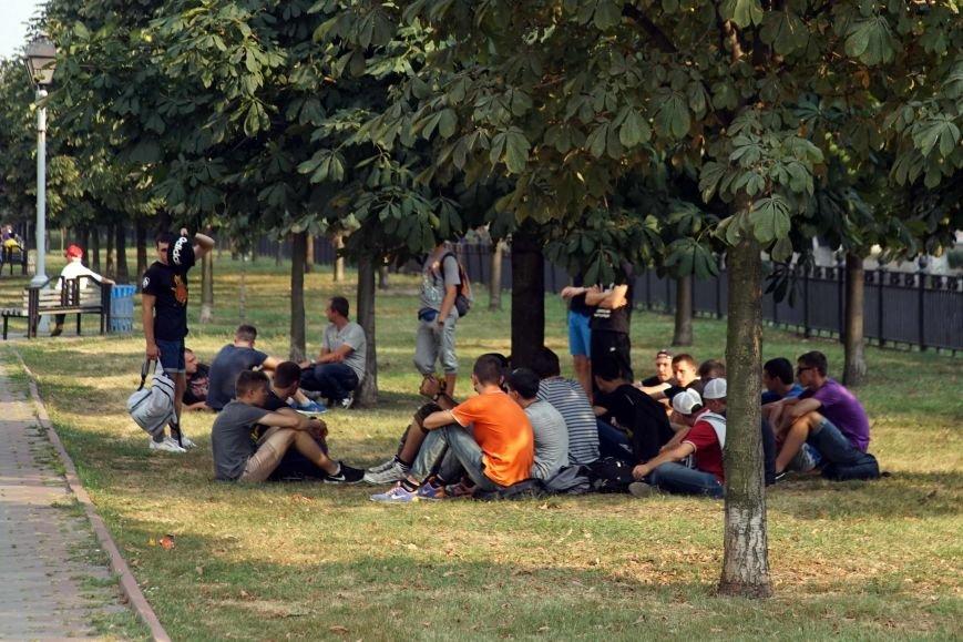 У Полтаві відбувся марш харківських фанів (фото) - фото 1