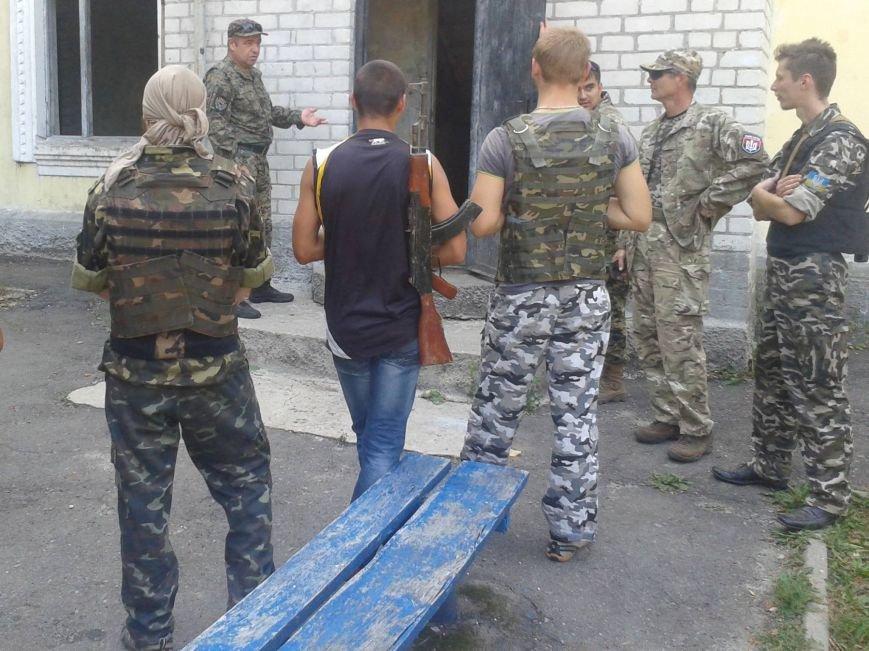 «Правий сектор» провел в Харькове учения (ФОТО) (фото) - фото 1