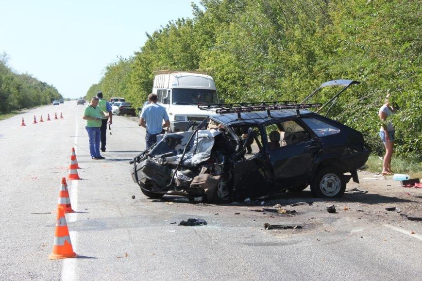 Страшная авария на запорожской трассе: один человек погиб, пять — в больнице (ФОТО), фото-2