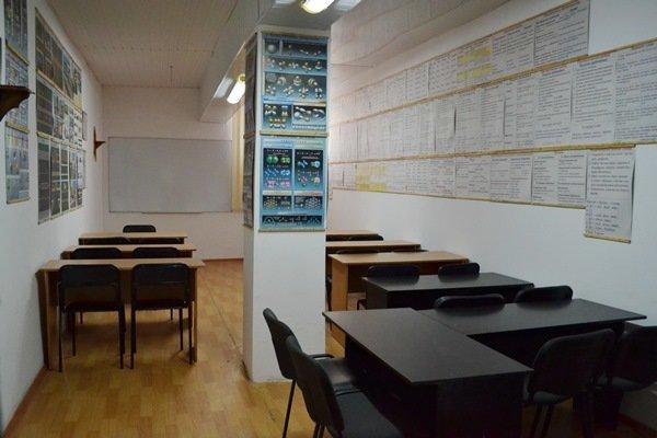 СИЗО-1 учебный класс