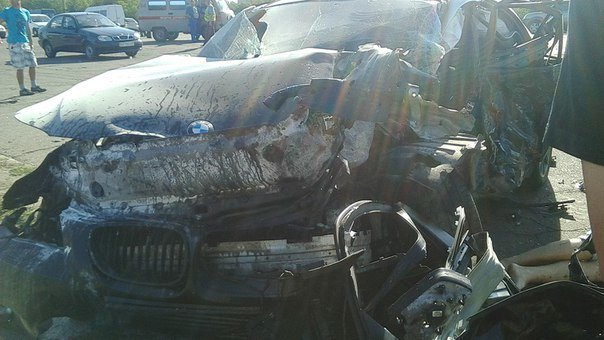 В страшном ДТП в Кривом Роге двое водителей погибли прямо на месте аварии (фото) - фото 1