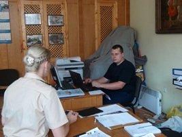 Працівники прес-служби У ДСНС в області передали для тимчасово переселених громадян теплі речі (ФОТО) (фото) - фото 1
