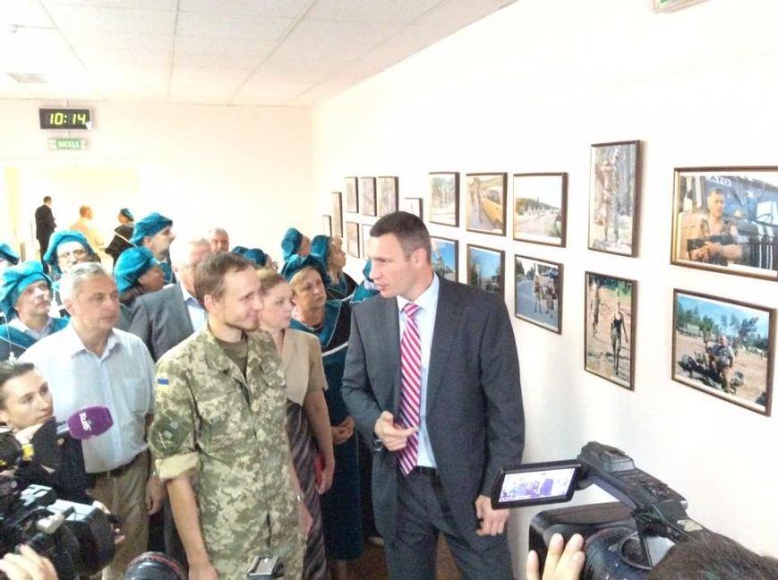 Кличко подарил икону бойцу, который служил под Мариуполем, фото-5