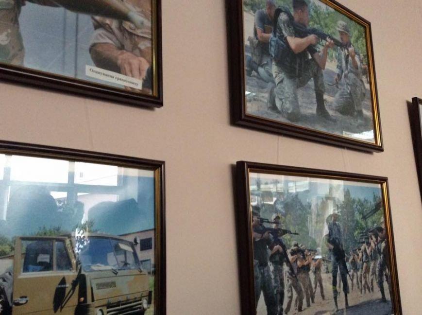 Кличко подарил икону бойцу, который служил под Мариуполем, фото-3