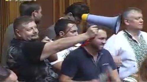 Верховная Рада со скандалом приняла изменения в Конституцию (ВИДЕО+ФОТО), фото-1