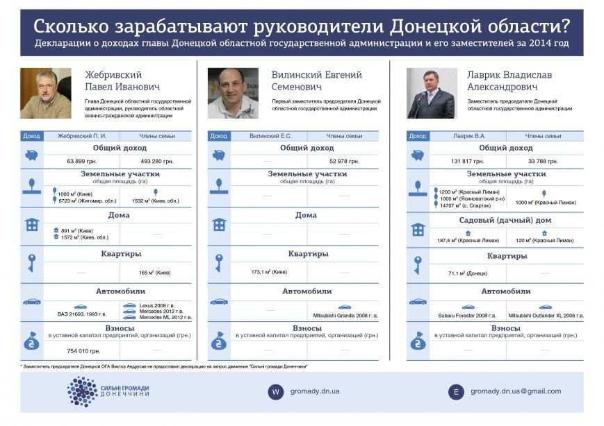 Губернатор Жебривский рассказал о своих доходах (ИНФОГРАФИКА), фото-1