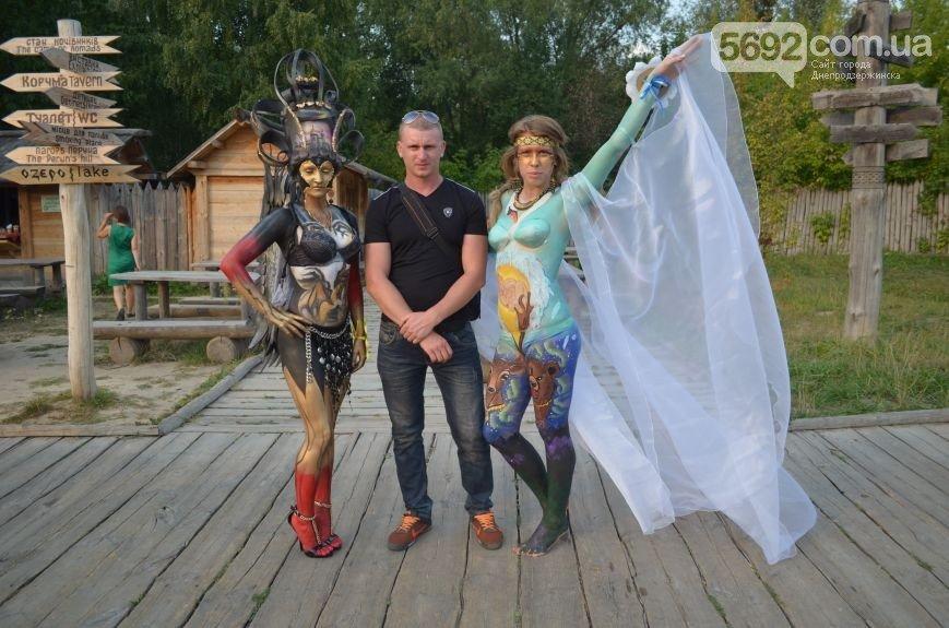 Художница из Днепродзержинска победила на фестивале боди-арта в Киеве (фото) - фото 11