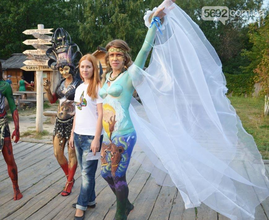 Художница из Днепродзержинска победила на фестивале боди-арта в Киеве (фото) - фото 2