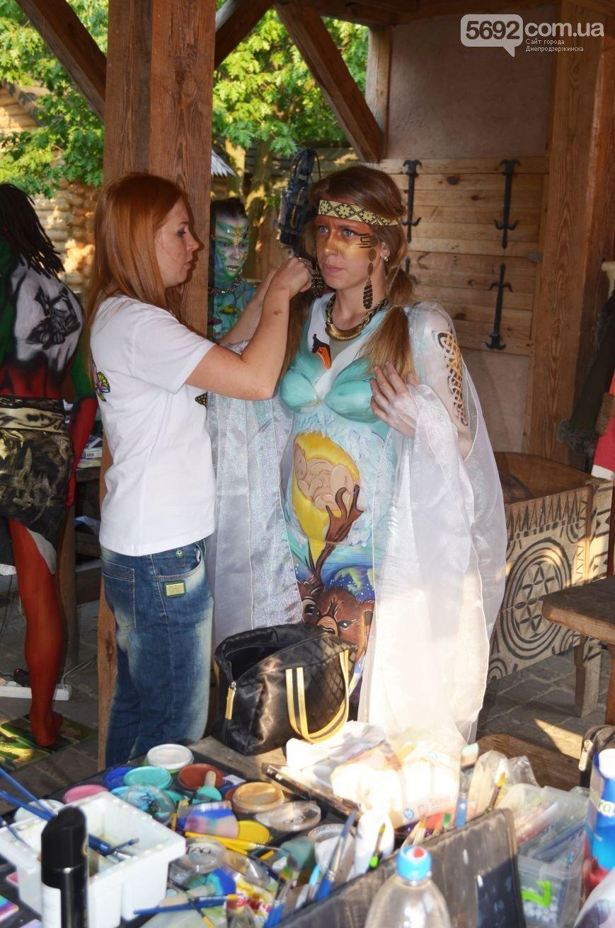 Художница из Днепродзержинска победила на фестивале боди-арта в Киеве (фото) - фото 1