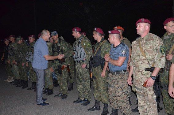 Николаевские спецназовцы вернулись домой: их сменили на Донбассе коллеги (ФОТО+ВИДЕО) (фото) - фото 6