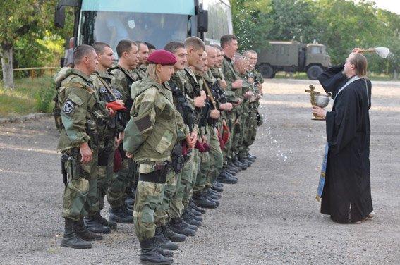 Николаевские спецназовцы вернулись домой: их сменили на Донбассе коллеги (ФОТО+ВИДЕО) (фото) - фото 3
