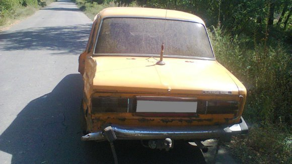 Неизвестный угнал у жителя Александрии машину, разбил ее и бросил. ФОТО (фото) - фото 1