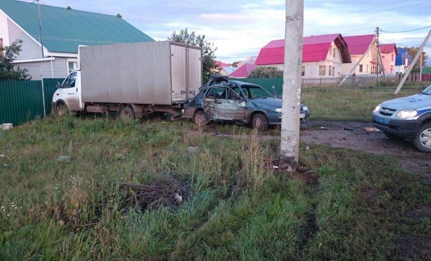 в Уфе пьяный водитель врезался в микроавтобус (фото) - фото 1