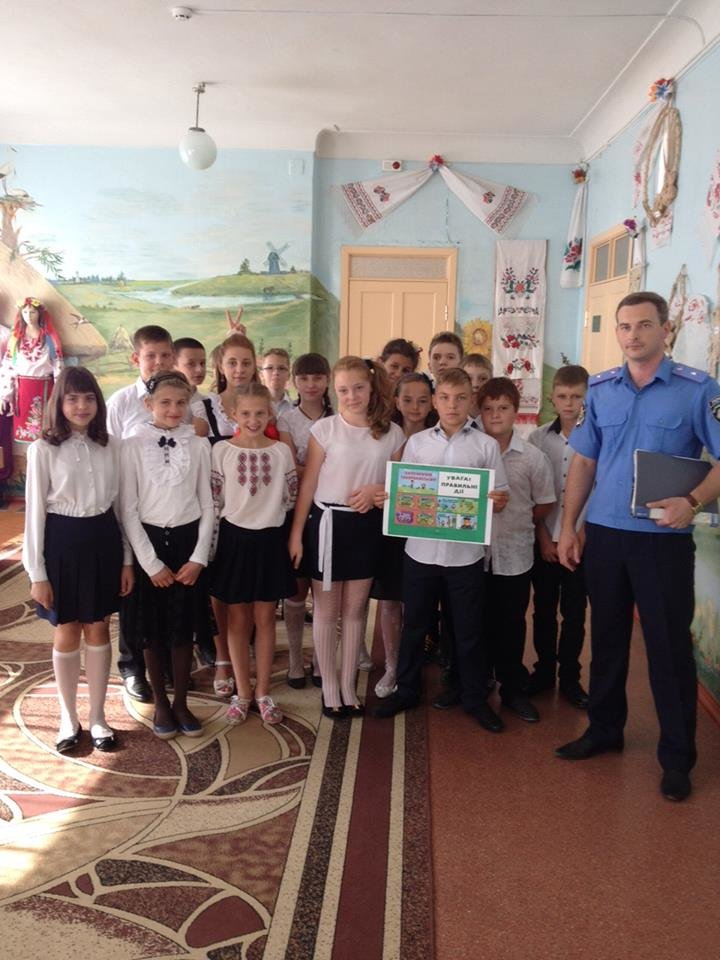 Краматорские правоохранители поздравили школьников с Днем знаний, фото-2