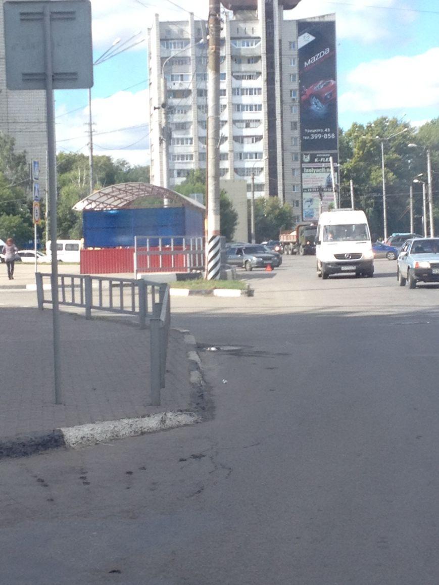 На Пушкаревском кольце ДТП, фото-1