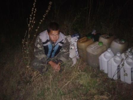 На Сумщине пограничники задержали топливо смазочные материалы (ФОТО) (фото) - фото 1