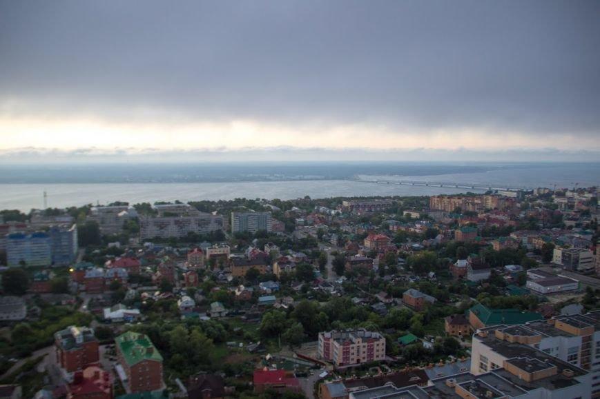 Ульяновские экстремалы забрались на высотку (фото) - фото 1