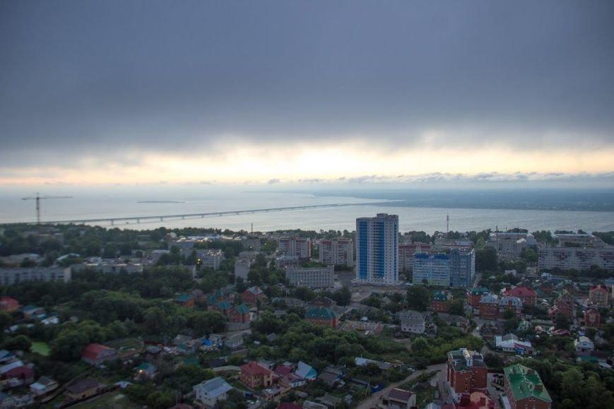 Ульяновские экстремалы забрались на высотку (фото) - фото 2