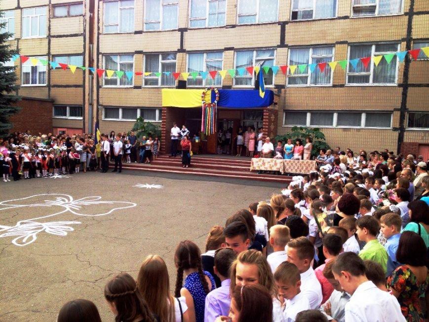 Прозвенел первый звонок в школах большого Доброполья (ФОТО), фото-2