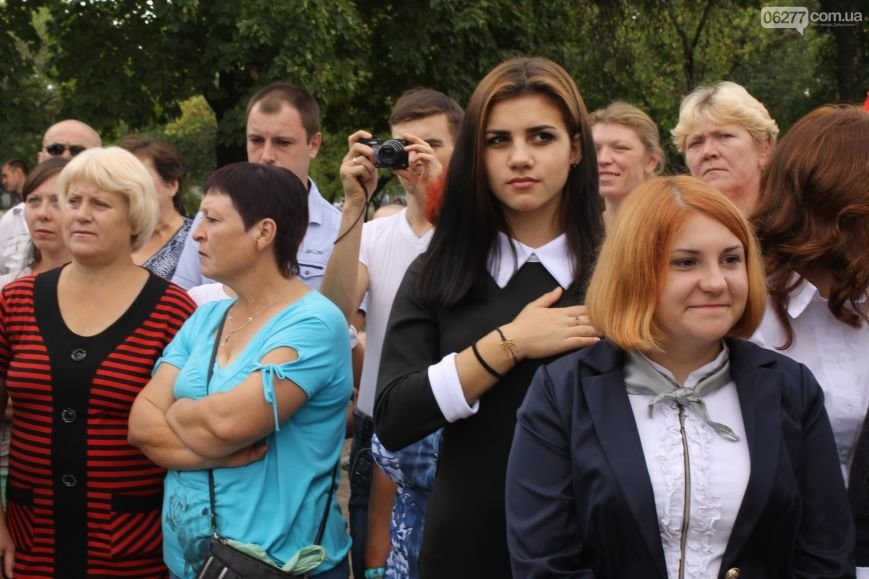Прозвенел первый звонок в школах большого Доброполья (ФОТО), фото-4