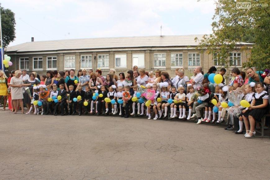Прозвенел первый звонок в школах большого Доброполья (ФОТО), фото-6