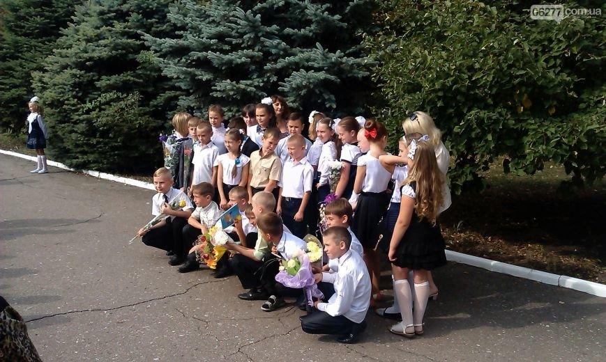 Прозвенел первый звонок в школах большого Доброполья (ФОТО), фото-9