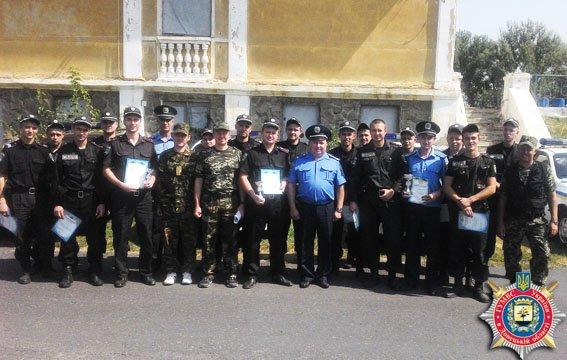 Краматорские охранники состязались в конкурсе «Лучший по профессии» (фото) - фото 1