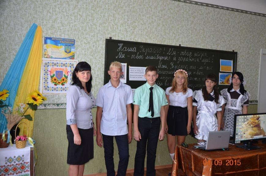 Первый заместитель начальника Добропольской ОГНИ посетил Праздник Знаний в УВК №3, фото-2