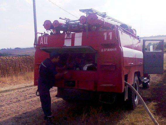За добу пожежники ліквідували 5 пожеж сухої рослинності на відкритій території та 2 пожежі торфу (фото) - фото 1