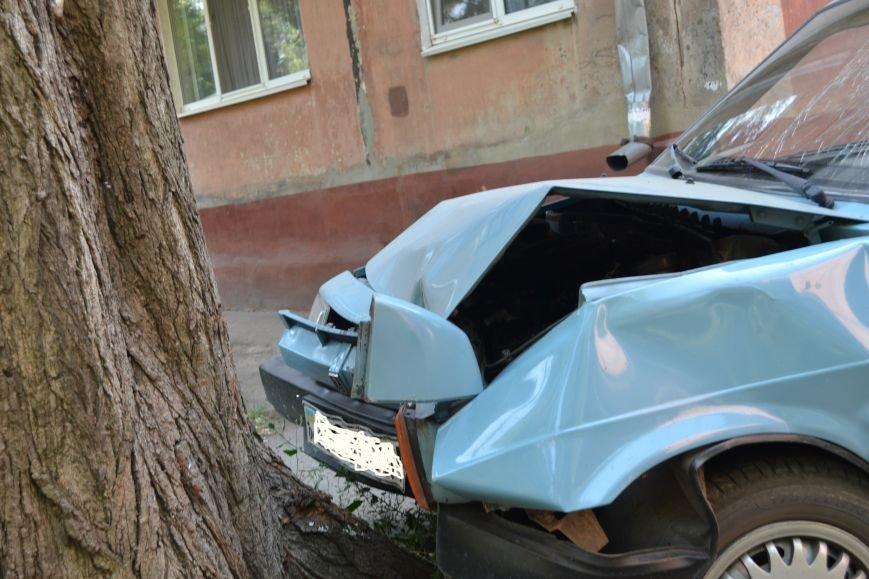 Криворожанин устроил ралли по Соцгороду и затормозил об дерево (ФОТО), фото-3