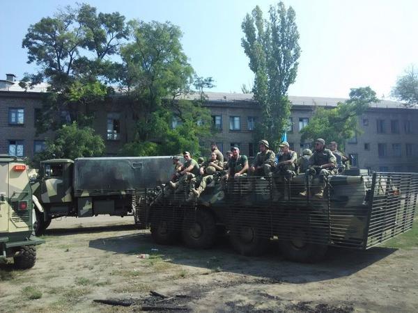 По Мариуполю «азовцы» проедут в полной боевой выкладке (ФОТО) (фото) - фото 1