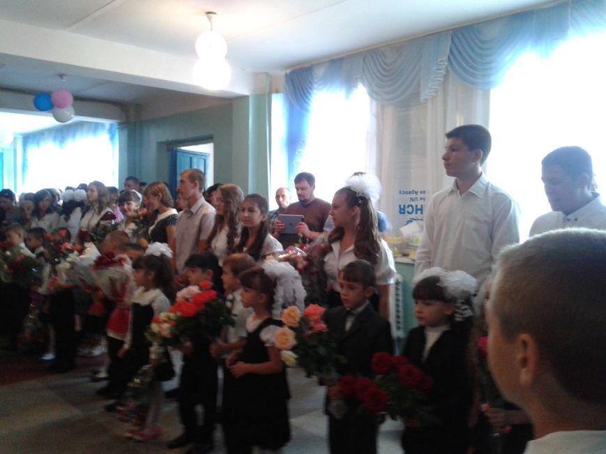 1 сентября в Гранитном. Дети радуются перемирию и будут заниматься до первых обстрелов (ФОТО), фото-1
