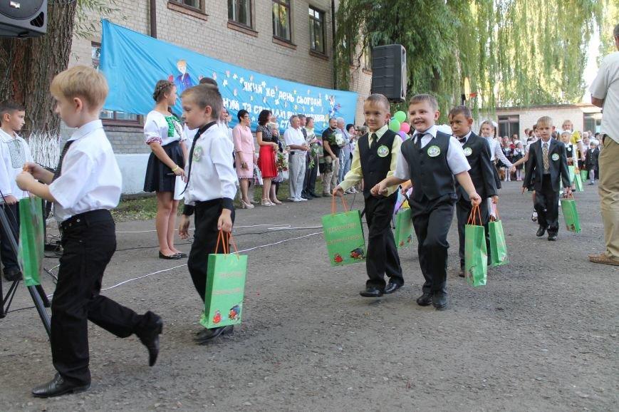 Часовоярских школьников поздравить с началом учебного года приехал мэр Артемовска, фото-11