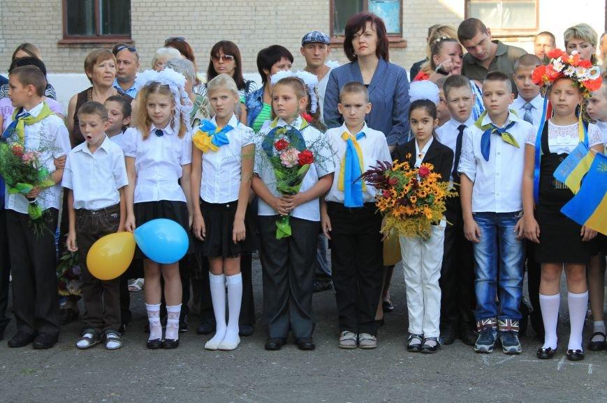 Часовоярских школьников поздравить с началом учебного года приехал мэр Артемовска, фото-2