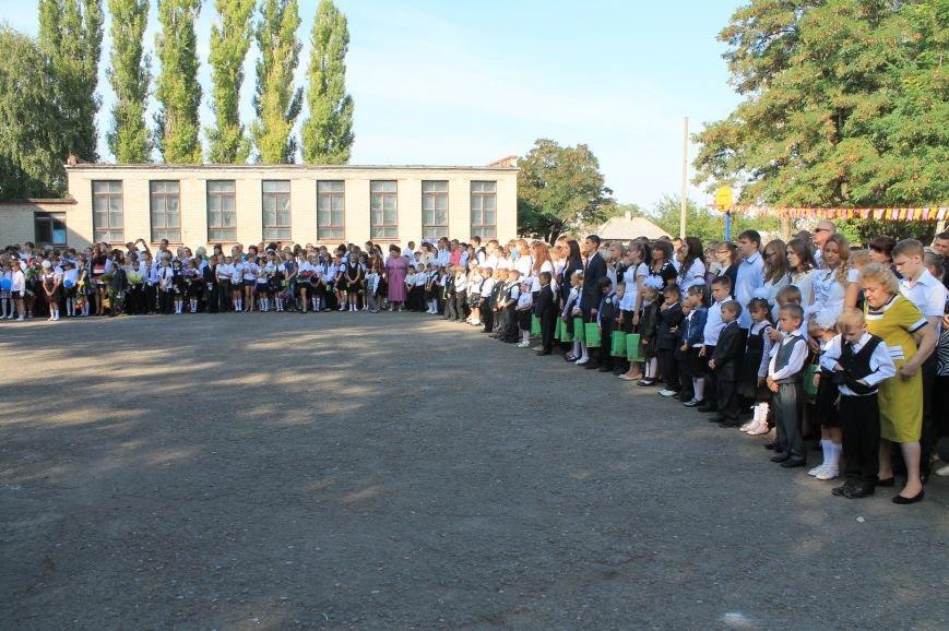 Часовоярских школьников поздравить с началом учебного года приехал мэр Артемовска, фото-6