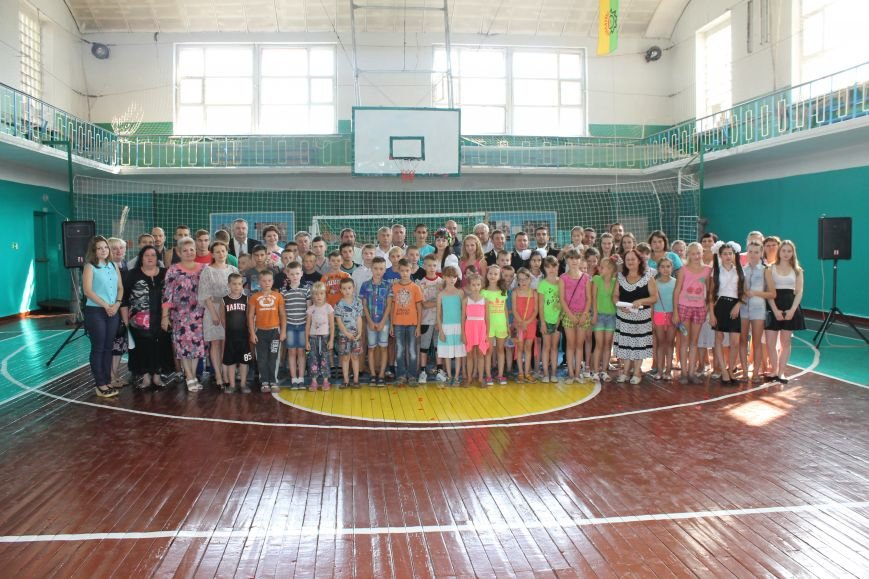 В городе Белицкое торжественно открыли Дворец спорта (Фото), фото-10