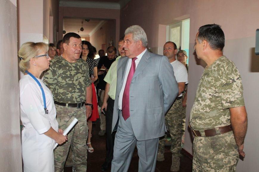 Руководство Часовоярской больницы снова застали врасплох, фото-1