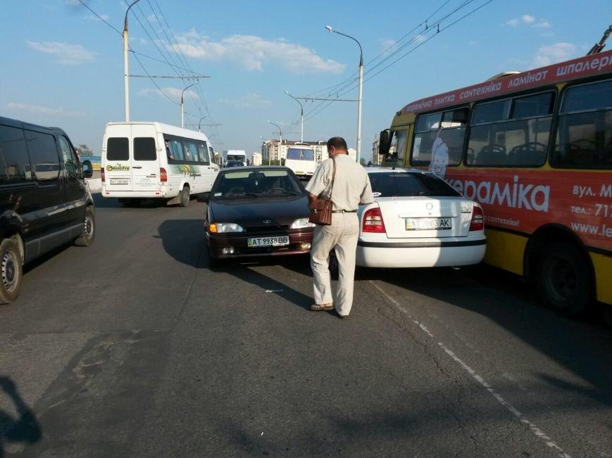Маштабне ДТП на мості по вулиці Незалежності (ФОТО), фото-9