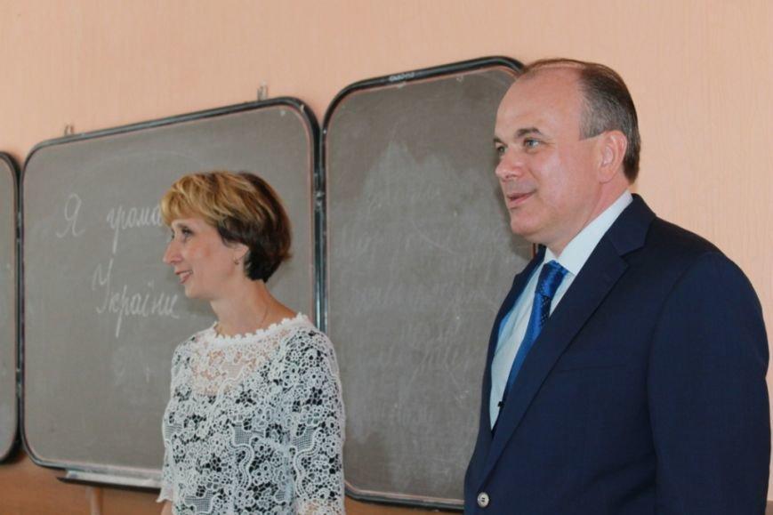 В школе № 38  - новая программа мотивации для педагогов и учеников от Юрия Тернавского (фото) - фото 1