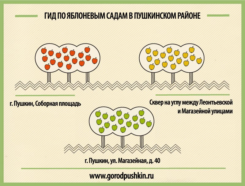 яблоневый гид gorodpushkin
