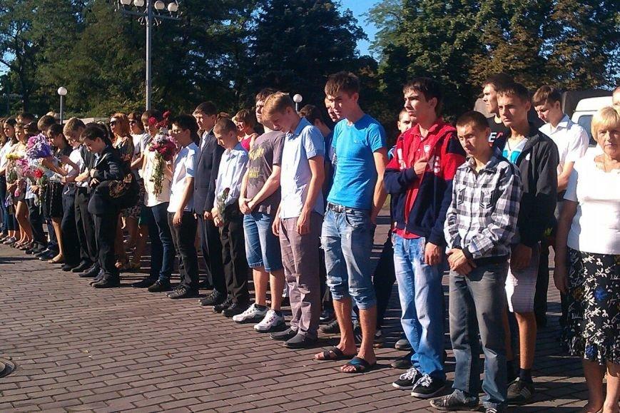 В Днепродзержинске состоялся митинг, посвященный 70-летию окончания Второй мировой войны (фото) - фото 2