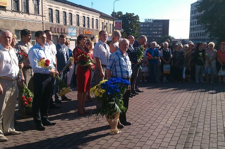 В Днепродзержинске состоялся митинг, посвященный 70-летию окончания Второй мировой войны, фото-3